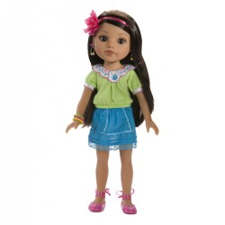 "Hearts for Hearts 14"" Doll - Consuelo"