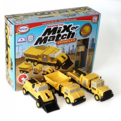 Mix or Match: Construction Vehicles® Set