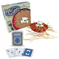 Yeti In My Spaghetti & Playing Cards Game Set