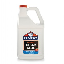 Elmer's Clear Washable Glue - 1 Gallon