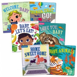 Indestructibles Basic Words Picture Books - Set of 6