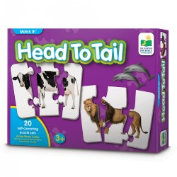 Match It! Head To Tail Puzzles Real Images