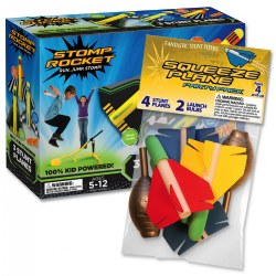 Stomp Rocket® Stunt Planes & Bonus Party Pack