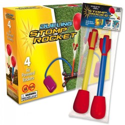 Stomp Rocket® Dueling Rockets & Refill Packs