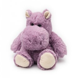 "Warmies® Microwavable Cuddly Plush 13"" Hippo"