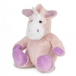 "Warmies Microwavable Plush Cuddly 13"" Unicorn"