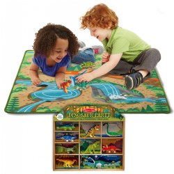 Prehistoric Playground Rug & Bonus Dinosaur Party Set