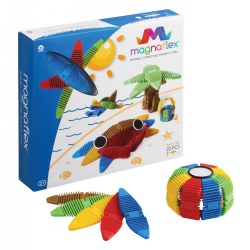 Magnaflex™ Flexible Magnetic Construction Kit - Beach Fun (22 Pieces)
