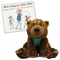 Going on a Bear Hunt Board Book & Plush
