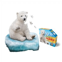 Madd Capp Puzzle Jr. - Polar Bear (100 Piece)