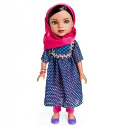 "Hearts for Hearts 14"" Doll - Shola from Afghanistan"