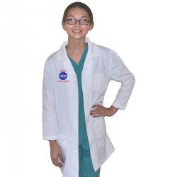 Child's Rocket Scientist Lab Coat Size 8 - 10