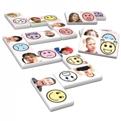 Emotions Dominoes Game (28 Pieces)