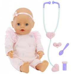"18"" Baby Born Mommy Make Me Better Interactive Doll - Blue Eyes"