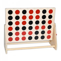 TickiT™ Wooden 4 In A Row Game