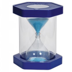TickiT™ Giant Clearview 5 Minute Sand Timer - Blue