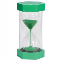TickiT™ Mega 1 Minute Sand Timer - Green