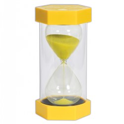 TickiT™ Mega 3 Minute Sand Timer - Yellow