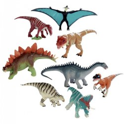 8 Piece Dinosaur Collection