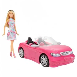 Barbie® Doll & Convertible Car