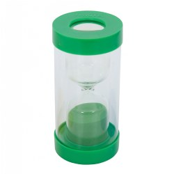 TickiT 1 Minute ClearView Magnifying Sand Timer - Green