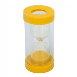 3 Minute ClearView Magnifying Sand Timer - Yellow