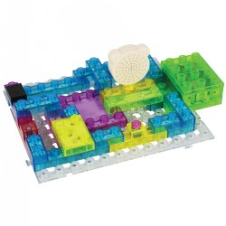 E-Blox Circuit Builder 395 Project Building Set - 66 Pieces