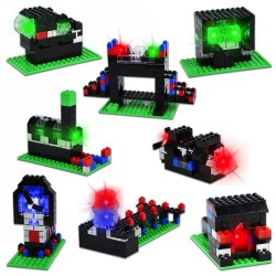 E-Blox Story Blox The City Building Set - 8 Projects