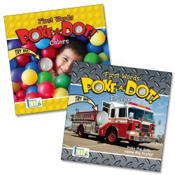 Poke-A-Dot First Words Colors & Trucks Book Set