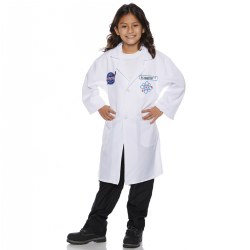 Child Sized Rocket Scientist Lab Coat Size 10-12