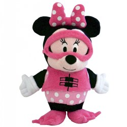 SoapSox Baby Bath Scrubs - Minnie Mouse