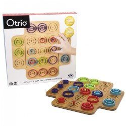 Marbles Otrio 2.0 Wood Board Game