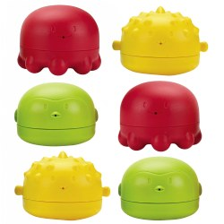 Ubbi® Squeeze 'n Switch Water Toys (Set of 6)