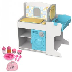 Doll Care Play Center & Accessories Set
