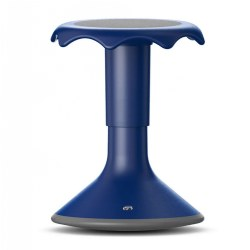 "Hokki Plus Adjustable Flexible Seating Ergonomic Stool 15""--19.75"" - Blue"