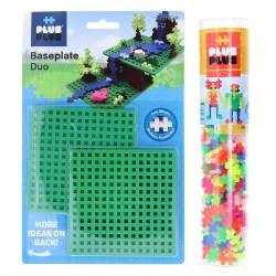 Plus-Plus® Neon Tube & Baseplate Set