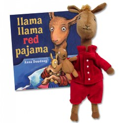 Llama Llama Red Pajama Hardcover Book & Plush