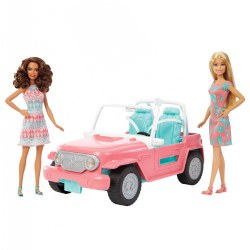 Mattel Barbie® Dolls & Fab Life Off-Road Vehicle
