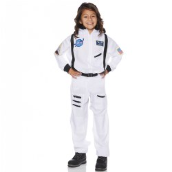 Underwraps Astronaut Dress Up - White