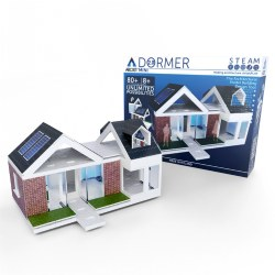 Arckit Architectural Model Building Kit: Mini-Dormer 2.0 - 80 Pcs
