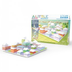Arckit Architectural Model Building Kit: Little Architect - 130 Pieces