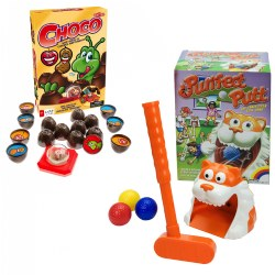 Purrfect Putt & Choco Memory Game Set