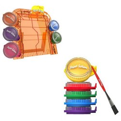 Goliath Games Paint Station Easel and Refill Pod Set