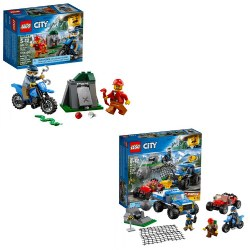 LEGO® City Off Road Chase and Dirt Road Pursuit