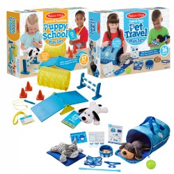 Melissa & Doug® Pet Travel & Training School Set