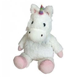 Warmies Cozy Plush - White Unicorn
