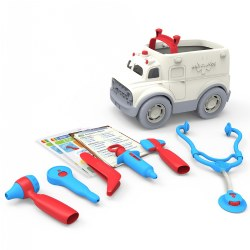 Ambulance and Doctor's Kit Role Play Set