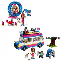 LEGO® Friends Olivia's Hamster Playground & Mission Vehicle
