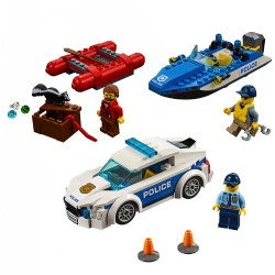 LEGO® City Police Patrol Car & Wild River Escape