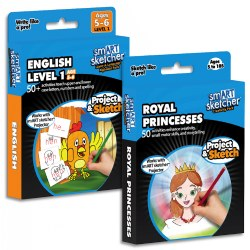 English and Royal Princesses Creativity Pack Set